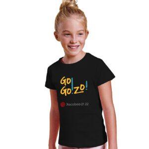 Camiseta NIÑA delante negra